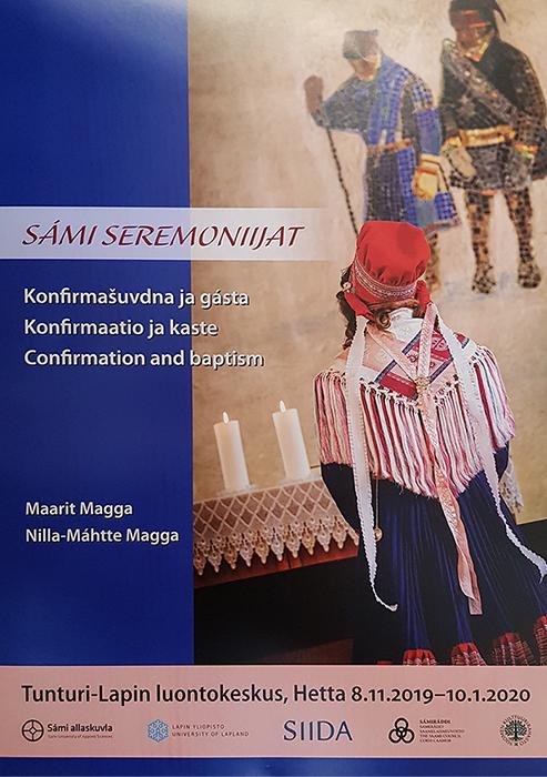 Sámi seremoniijat -taidekäsityönäyttely